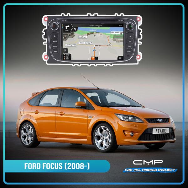 FORD FOCUS (2008-2011) 7″ multimédia
