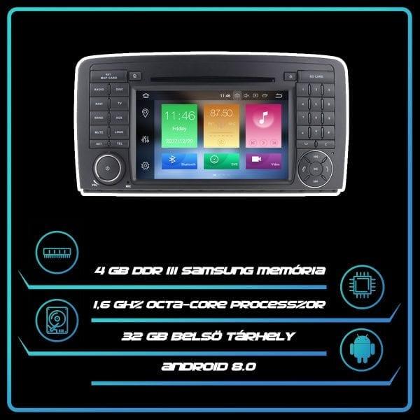 MERCEDES-BENZ GL 320 (2005-2012) 7″ multimédia