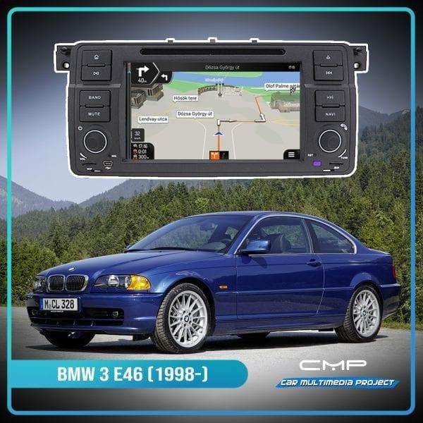 BMW 3 Series E46 (1998-2005) 7″ multimédia