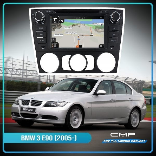 BMW 3 Series E90 (2005-2012) Auto Air-con 7″ multimédia