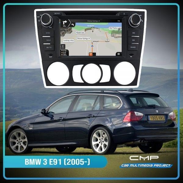 BMW 3 Series E91 (2005-2012) Auto Air-con 7″ multimédia