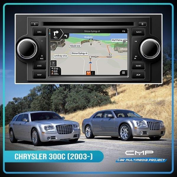 CHRYSLER 300C (2007-2010) 6,2″ multimédia