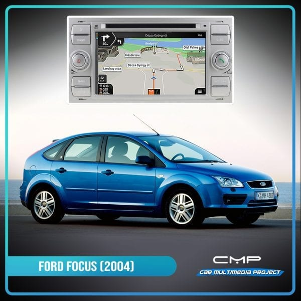 FORD FOCUS (2005-2007) 7″ multimédia