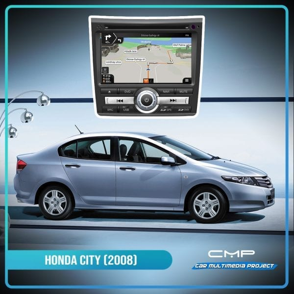 HONDA HONDA CITY (2008-2012 (Manual Air-con) 8″ multimédia