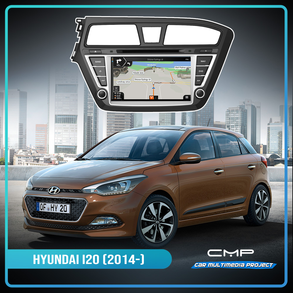 HYUNDAI I20 (2015) 8″ multimédia
