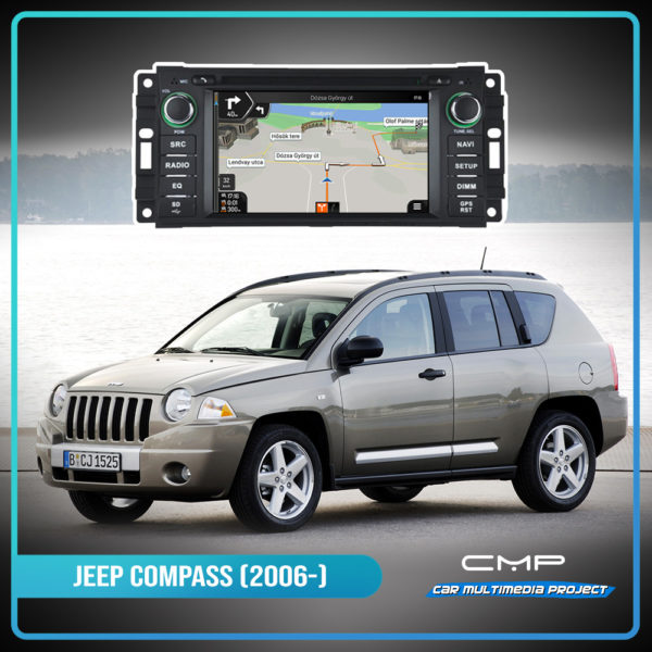 JEEP COMPASS 6,2″ multimédia