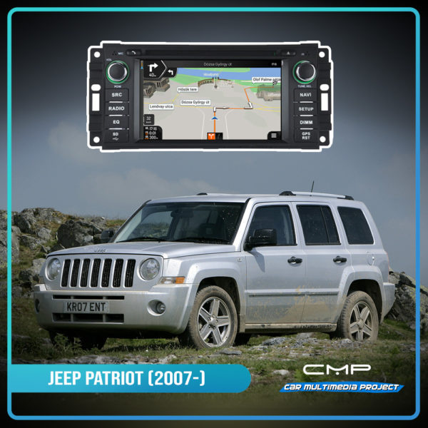 JEEP PATRIOT 6,2″ multimédia