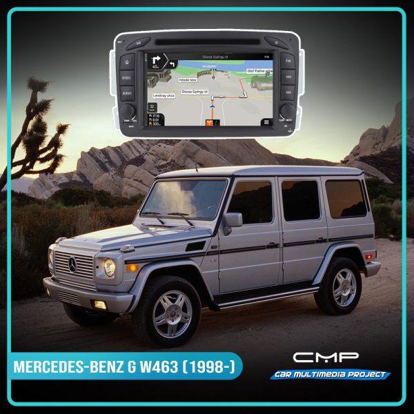 MERCEDES-BENZ G-CLASS W463 (2001-2008) 7″ multimédia
