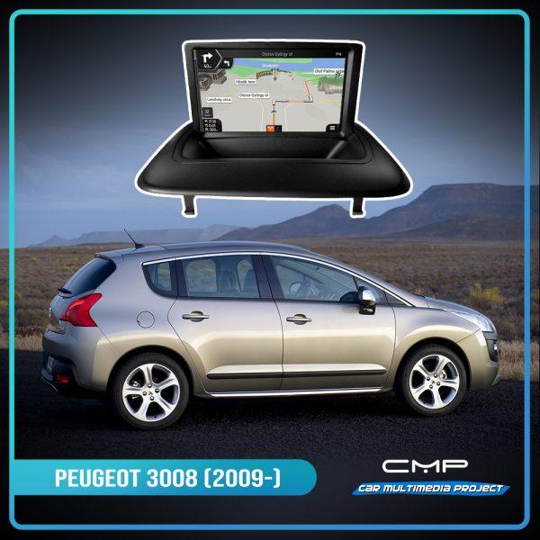 PEUGEOT 3008 (2009-2011) 7″ multimédia
