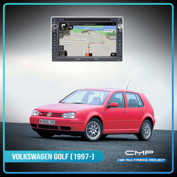 VOLKSWAGEN GOLF 4 (1997-) 6,2″ multimédia