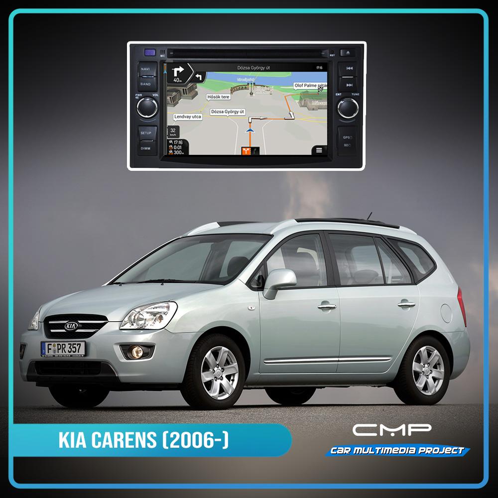 KIA Carens (2006-2011) 6,2″ multimédia