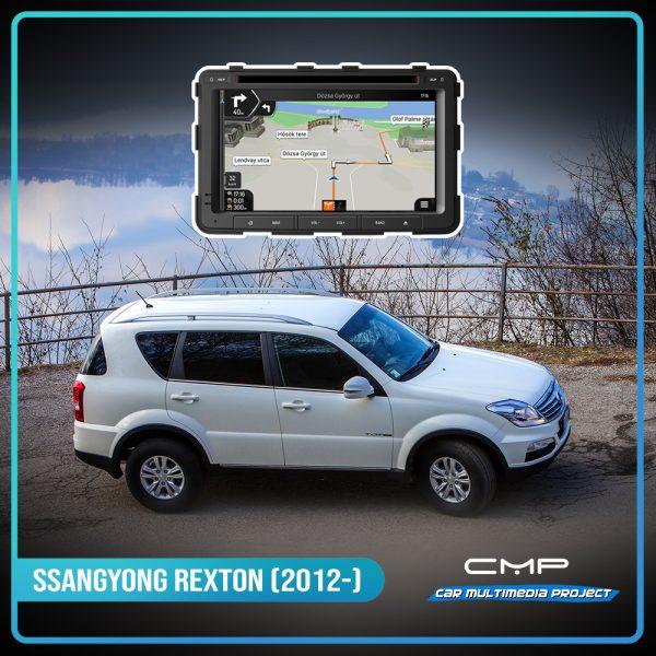 SSANGYONG REXTON (2014-2015) 7″ multimédia
