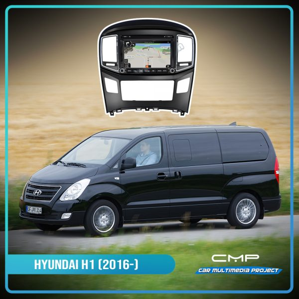 HYUNDAI H1 (2016) 8″ multimédia