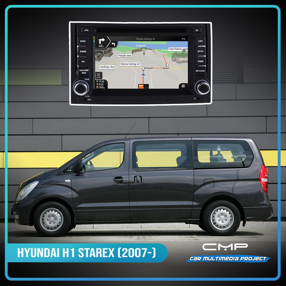 HYUNDAI H1 (STAREX) (2007-2012) 6,2″ multimédia