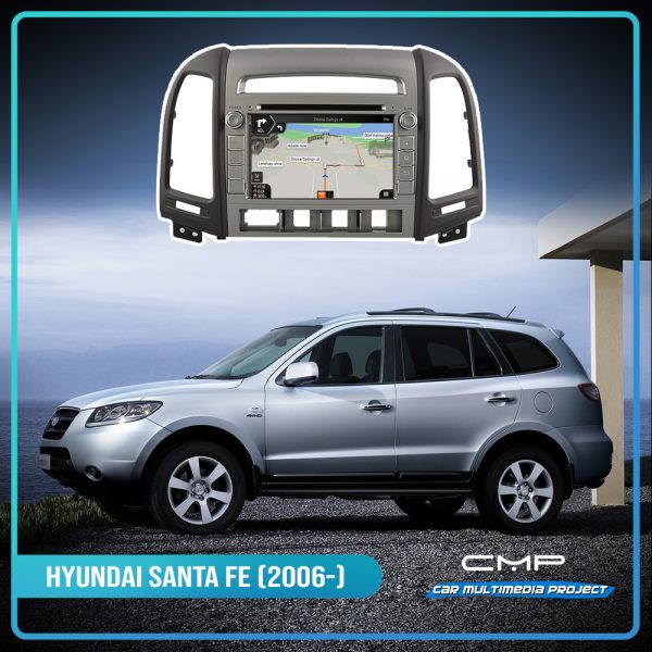 HYUNDAI NEW SANTA FE (2007-2011) 7″ multimédia