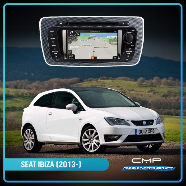 SEAT IBIZA (2009-2013) 6,2″ multimédia