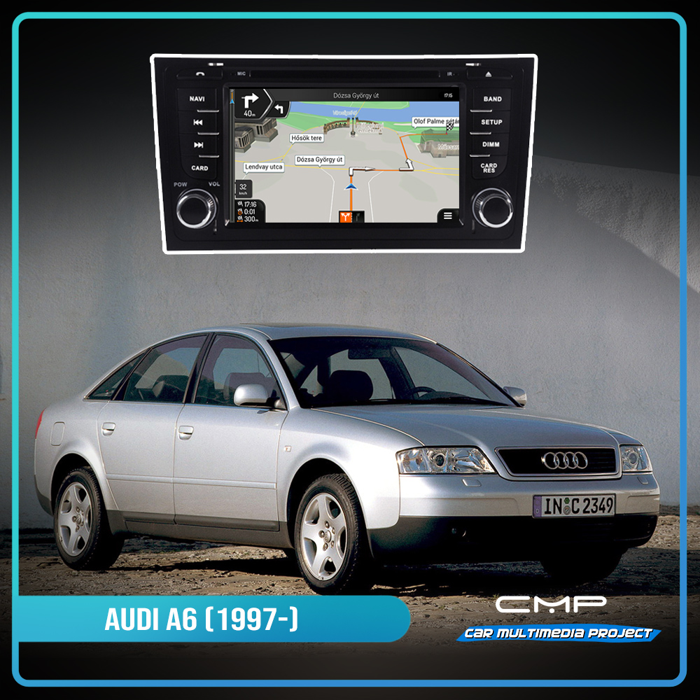 AUDI A6 (1997-2004) 7″ multimédia