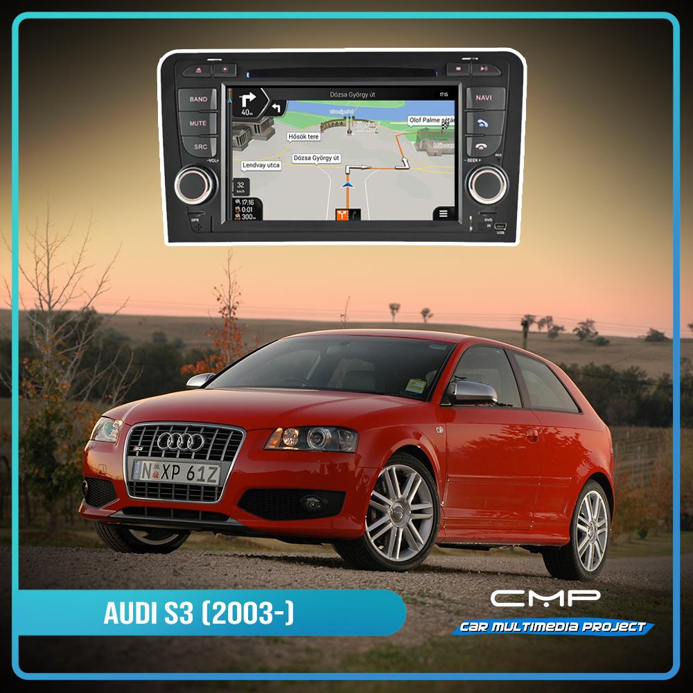 AUDI S3 (2003-2012) 6.2″ multimédia