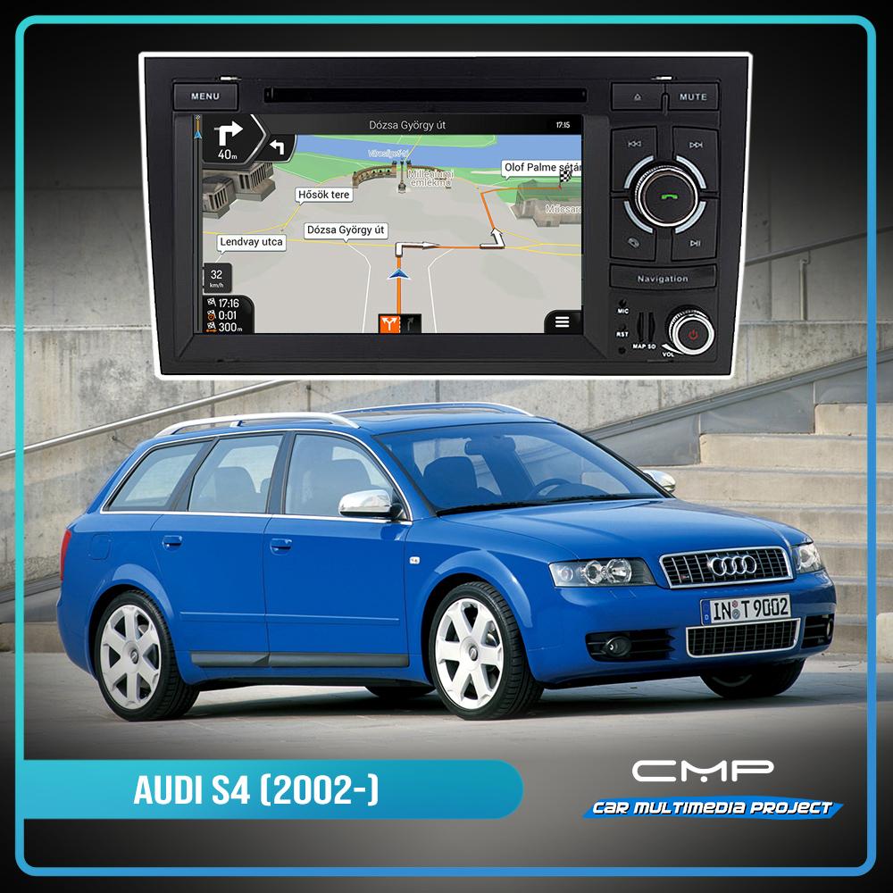 AUDI S4 (2002-2008) 6.2″ multimédia