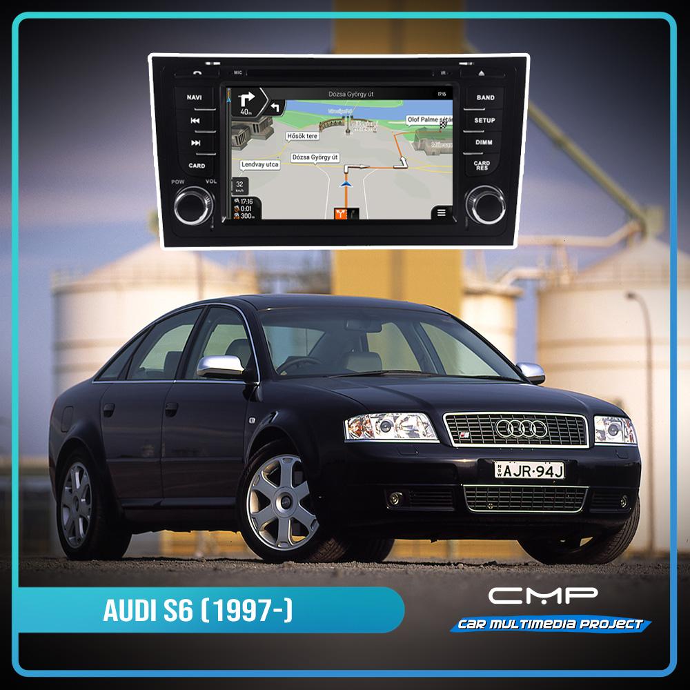 AUDI S6 (1997-2007) 7″ multimédia