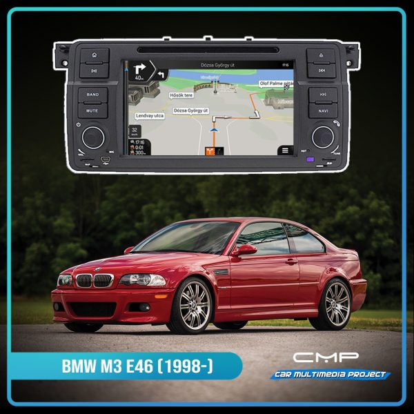 BMW 3 Series M3 (1998-2005) 7″ multimédia