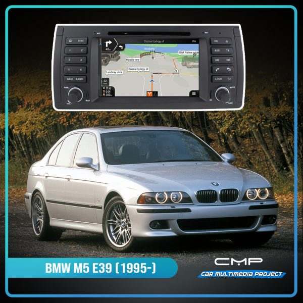 BMW 5 Series E39 (1995-2003) 7″ multimédia