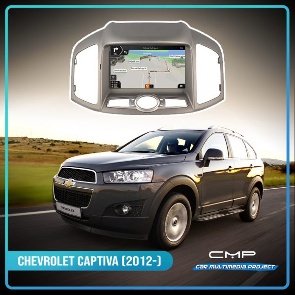 CHEVROLET CAPTIVA (2012-2013) 8″ multimédia