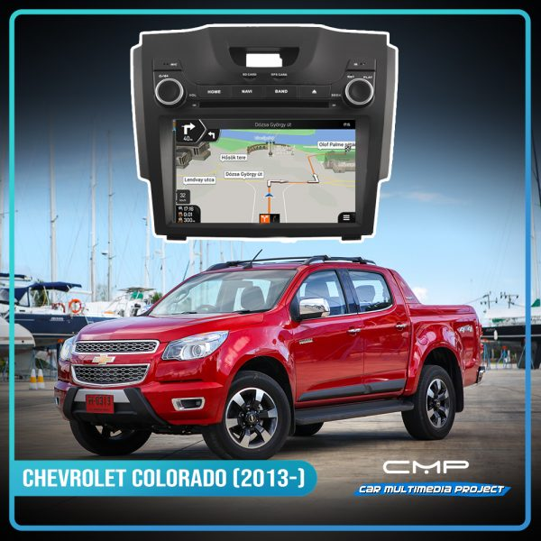 CHEVROLET COLORADO (2013) 8″ multimédia