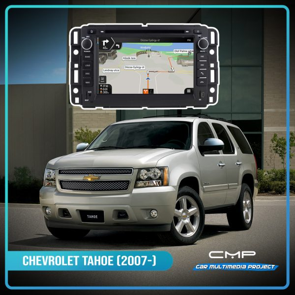 CHEVROLET TAHOE (2007-2012) 7″ multimédia