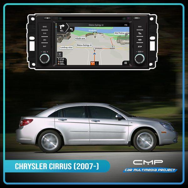 CHRYSLER CIRRUS (2007-2010) 6,2″ multimédia