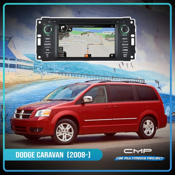 DODGE CARAVAN 6,2″ multimédia