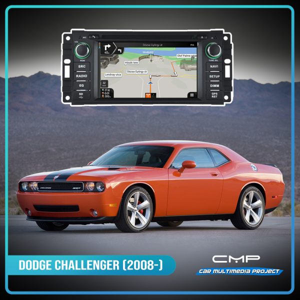 DODGE CHALLENGER 6,2″ multimédia