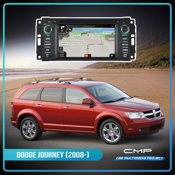DODGE JOURNEY 6,2″ multimédia