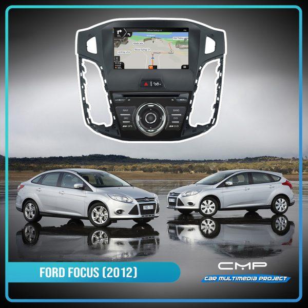 FORD FOCUS (2012) 8″ multimédia