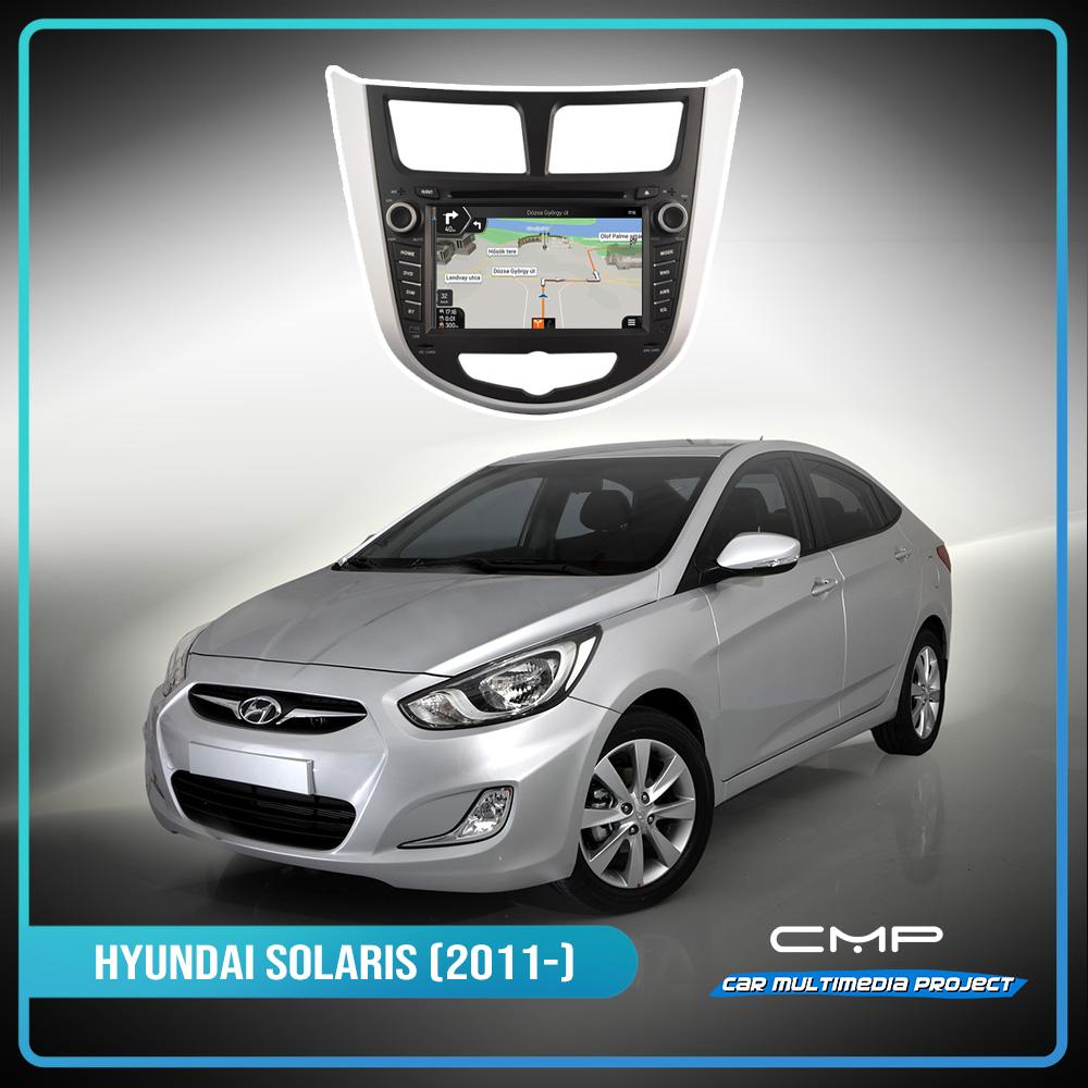 HYUNDAI SOLARIS (2011-2012) 7″ multimédia