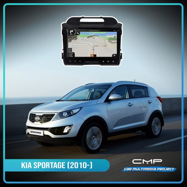 KIA SPORTAGE (2010-2014) 9″ deckless multimédia