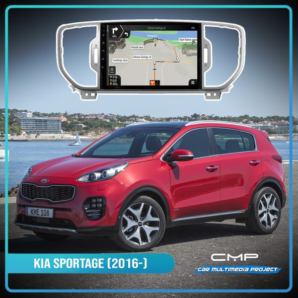 KIA SPORTAGE (2016) 9″ deckless multimédia