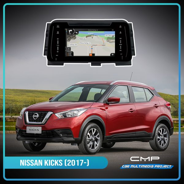 NISSAN KICKS (2017) 7″ multimédia