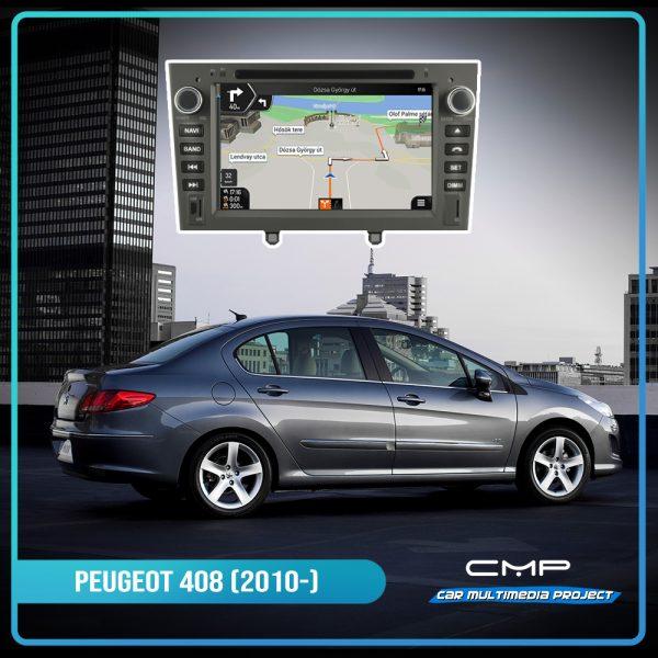 PEUGEOT 408 (2010-2011) 7″ multimédia