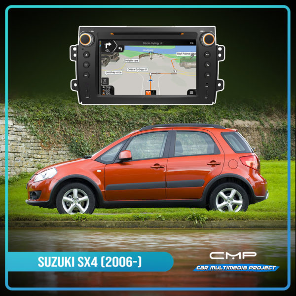 SUZUKI SX4 (2006-) 8″ multimédia
