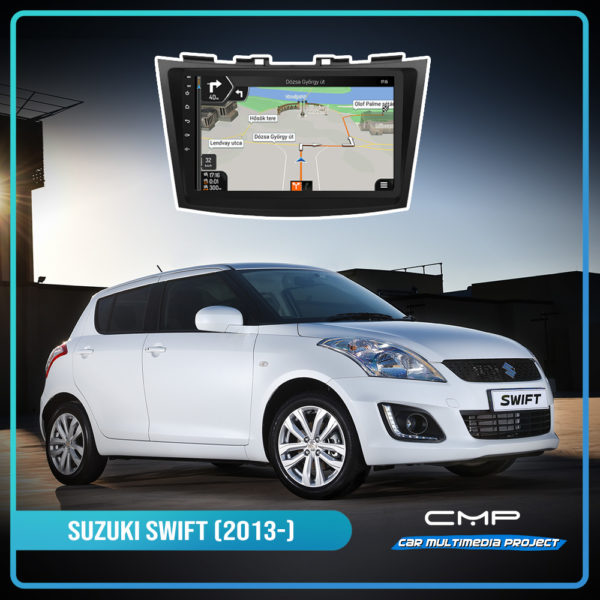 SUZUKI SWIFT (2013-) 10,1″ multimédia