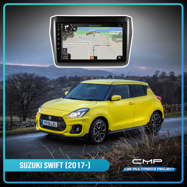 SUZUKI SWIFT (2017-) 10,1″ multimédia