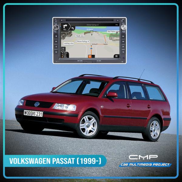 VOLKSWAGEN PASSAT (1999-) 7″ multimédia
