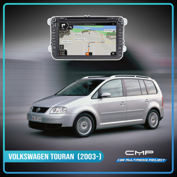 VOLKSWAGEN TOURAN (2003-) 8″ multimédia