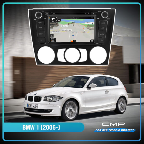 BMW 1-Series E81 (2006-) 7″ multimédia