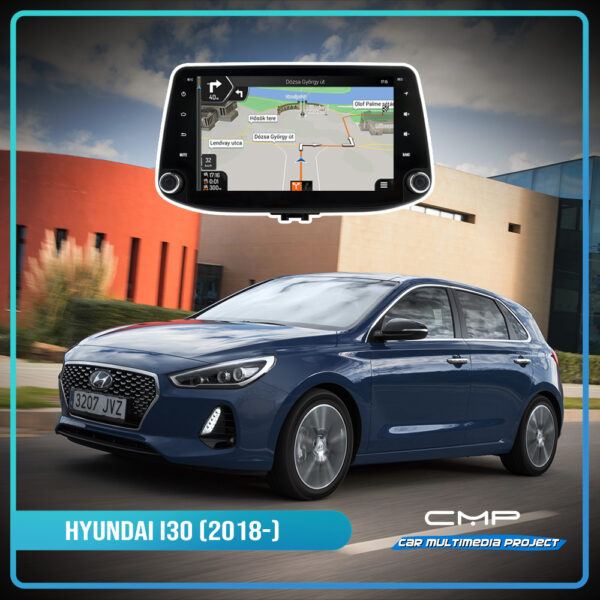 HYUNDAI i30 (2018-) 9″ multimédia