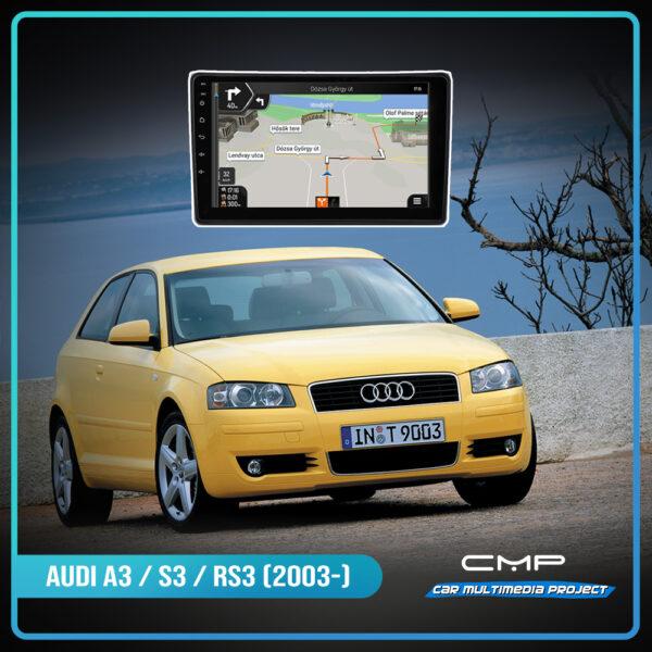AUDI A3 / S3 / RS3 (2003-) 10.2″ multimédia